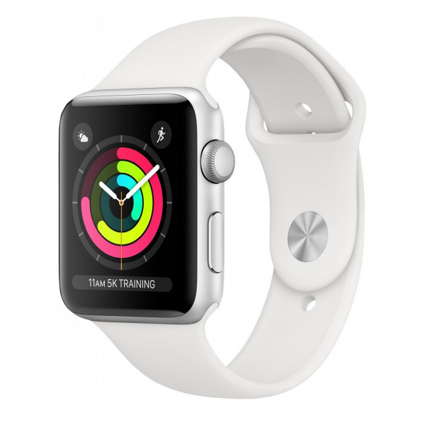 Apple Watch Series 3 GPS 42mm Silver Aluminum Case with Fog Sport Band (MTF22FS/A) UACRF