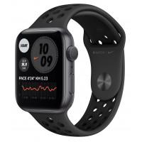 Apple Watch Nike SE GPS 44mm Space Gray Aluminum Case w. Anthracite/Black Nike Sport B. (MYYK2UL/A) UACRF