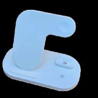 Беспроводное зарядное устройство Smart 3 in 1 Z7S Fast 15W (White)