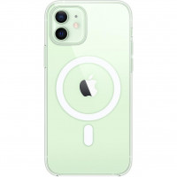 Чехол iPhone 12/12 Pro Apple Clear Case MagSafe (Transparent)