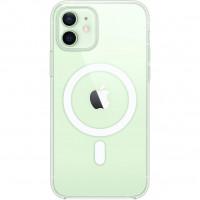 Чехол iPhone 12 mini Apple Clear Case MagSafe (Transparent)
