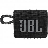 Портативные колонки JBL GO 3 Black (JBLGO3BLK)