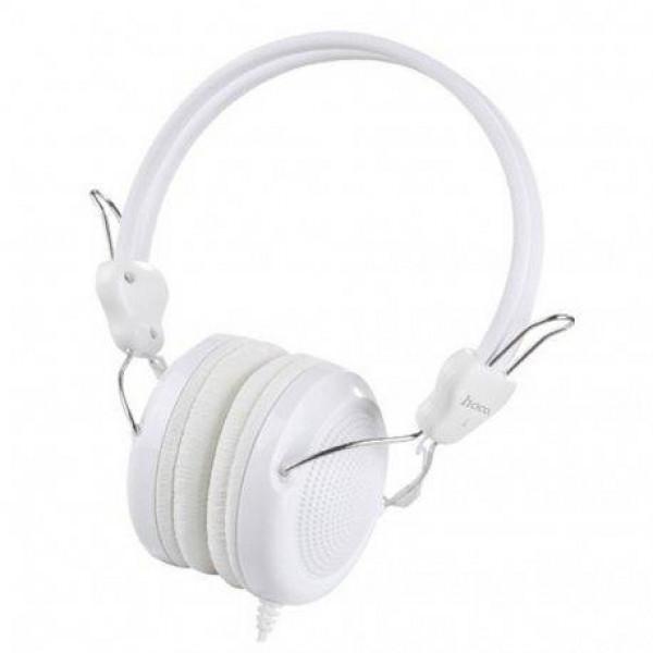 Наушники с микрофоном Hoco W5 White
