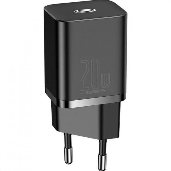 Сетевое зарядное устройство Baseus Super Si 20W Black