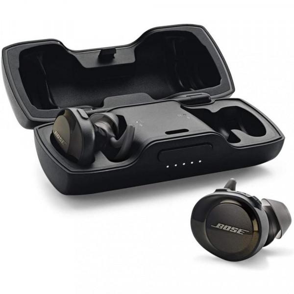 """Наушники TWS (""""полностью беспроводные"""") Bose SoundSport Free Wireless Black 774373-0010"""