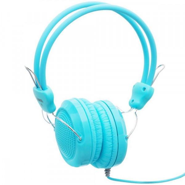 Наушники с микрофоном Hoco W5 Blue