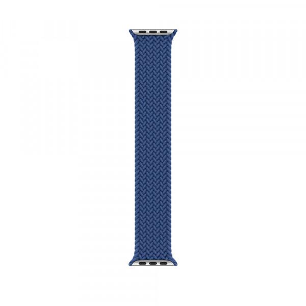 Ремешок-браслет для Apple Watch 38mm/40mm Braided Solo Loop (Atlantic Blue) M