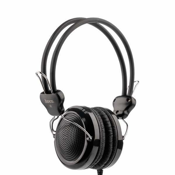 Наушники с микрофоном Hoco W5 Black