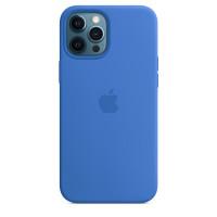 Чехол iPhone 12 Pro Max Apple Silicone Case (Capri Blue)