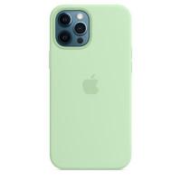 Чехол iPhone 12 Pro Max Apple Silicone Case (Pistachio)