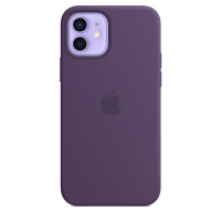 Чехол iPhone 12/12 Pro Apple Silicone Case (Amethyst)