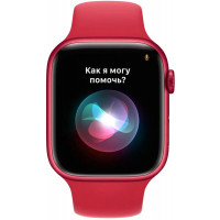 Apple Watch Series 7 GPS 41mm PRODUCT RED Aluminum Case With PRODUCT RED Sport