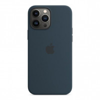 Чехол для iPhone 13 Pro Apple Silicone Case with MagSafe (Abyss Blue)