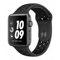 Apple Watch Nike+ Series 3 GPS 42mm Space Gray Aluminum w. Anthracite/BlackSport B. (MTF42FS/A) UACRF