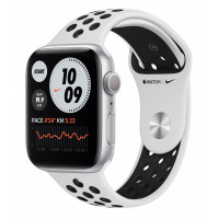 Apple Watch Nike SE GPS 40mm Silver Aluminum Case w. Pure Platinum/Black Nike Sport B. (MYYD2UL/A) UACRF