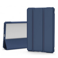 Чехол для iPad Pro 12.9 (2020) Blueo Ape Case with Leather Sneath (Navy Blue)