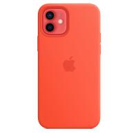 Чехол iPhone 12/12 Pro Apple Silicone Case (Electric Orange)