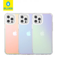 Чехол iPhone 12 Pro Max Blueo Colorful Drop Resistance Case (Green)