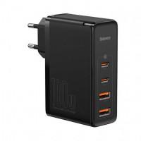 Сетевое зарядное устройство Baseus GaN PRO Quick Charger 2C+2U 100W EU Black
