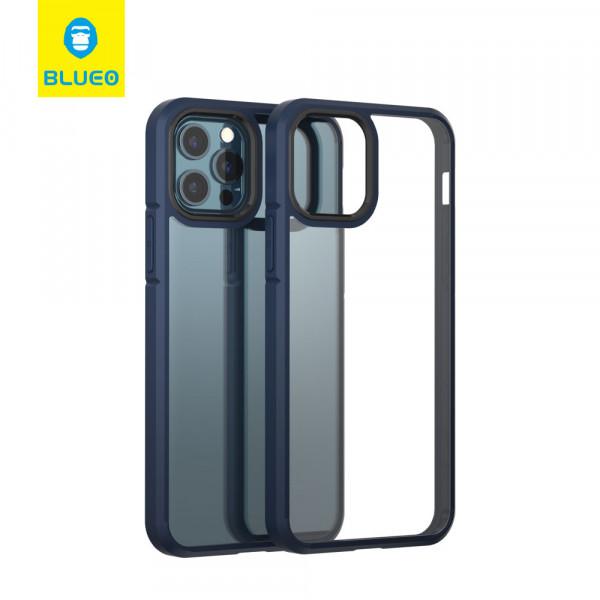 Чехол iPhone 12 Pro Max Blueo Crystal Drop Resistance Phone Case (Blue)