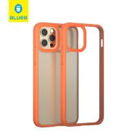 Чехол iPhone 12/12 Pro Blueo Crystal Drop Resistance Phone Case (Orange)