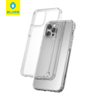 Чехол iPhone 12/12 Pro Blueo Crystal Drop Resistance Phone Case (Transparent)