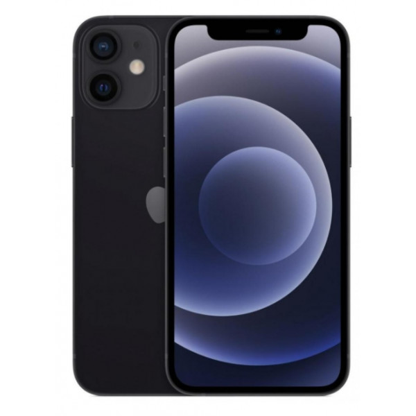 Apple iPhone 12 Mini 64GB (Black) (MGDX3) UACRF