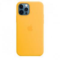 Чехол iPhone 12 Pro Max Apple Silicone Case (Sunflower)