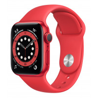 Apple Watch Series 6 GPS 44mm (PRODUCT)RED Aluminum Case w. (PRODUCT)RED Sport B. (M00M3UL/A) UACRF