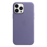 Чехол для iPhone 13 Pro Apple Leather Case with MagSafe (Wisteria)