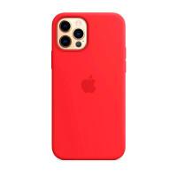 Чехол iPhone 12/12 Pro Apple Silicone Case (Red) фото 2