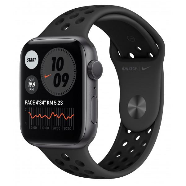 Apple Watch Nike SE GPS 40mm Space Gray Aluminum Case w. Anthracite/Black Nike Sport B. (MYYF2UL/A) UACRF