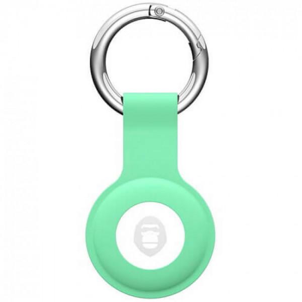 Чехол для AirTag Blueo Antilost Liquid Silicone Protector (Green)