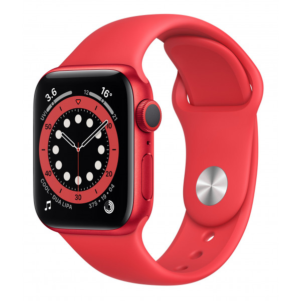 Apple Watch Series 6 GPS 40mm (PRODUCT)RED Aluminum Case w. (PRODUCT)RED Sport B. (M00A3UL/A) UACRF