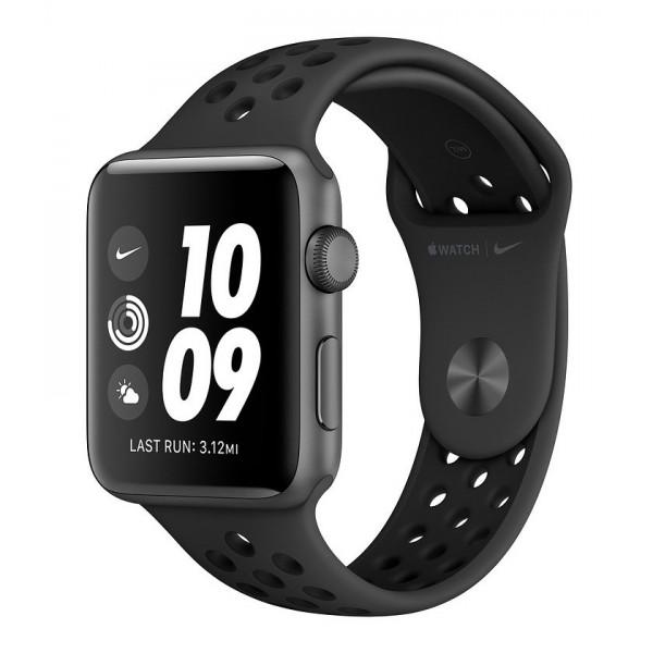 Apple Watch Nike+ Series 3 GPS 38mm Space Grey Aluminium C. w. Anthracite B. (MTF12FS/A) UACRF