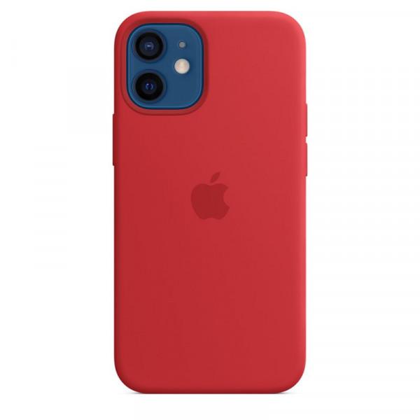 Чехол iPhone 12 mini Apple Silicone Case (Red)