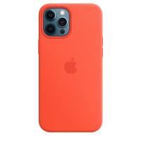 Чехол iPhone 12 Pro Max Apple Silicone Case (Electric Orange)