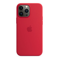 Чехол для iPhone 13 Pro Max Apple Silicone Case with MagSafe (PRODUCT)RED