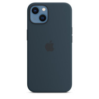 Чехол для iPhone 13 Apple Silicone Case with MagSafe (Abyss Blue)