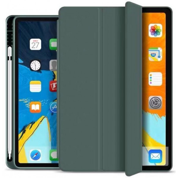 Чехол книжка для iPad 10.2 Coblue Full Cover (dark green)