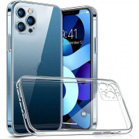 Чехол iPhone 12 Pro Clear Case Full Camera Series (transparent)