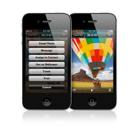 Apple iPhone 4S 8GB (Black)  (Refurbished) фото 2