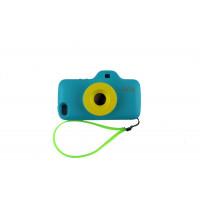 Чехол Накладка для iPhone 5/5S QCQ Toy Camera cace (оранжевый) (силикон) фото 2
