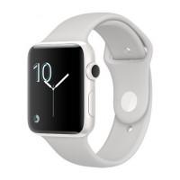 Apple Watch Edition Series 3 (GPS + Cellular) 42mm Gray Ceramic w. Gray/Black Sport B. (MQKE2) фото 2
