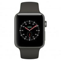 Apple Watch Edition Series 3 (GPS + Cellular) 42mm White Ceramic w. Soft White/Pebble Sport B. (MQKD2) фото 2