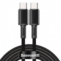 Кабель Baseus High Density Braided Type-C/Type-C 100W (CATGD-A01) Black 2m