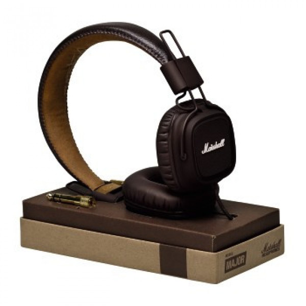 Наушники с микрофоном Marshall Major III Brown (4092184)