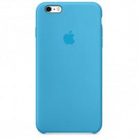Чехол Накладка для iPhone 6 Plus Apple Silicone Case Original (Lilac Cream) (Силикон)