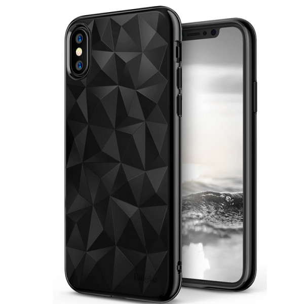Чехол накладка iPhone Xs  Usams Gelin (black)