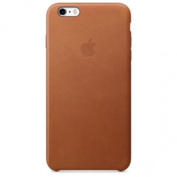 Чехол Накладка  iPhone X/Xs Apple Leather Case (Saddle Brown)